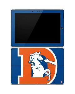 Denver Broncos Retro Logo Surface 3 Skin