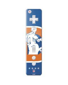 Denver Broncos Retro Logo Wii Remote Controller Skin