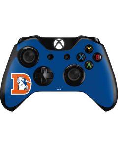 Denver Broncos Retro Logo Xbox One Controller Skin
