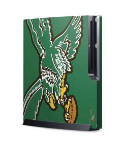 Philadelphia Eagles Retro Logo Playstation 3 & PS3 Slim Skin