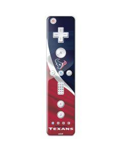 Houston Texans Wii Remote Controller Skin