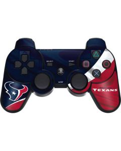 Houston Texans PS3 Dual Shock wireless controller Skin