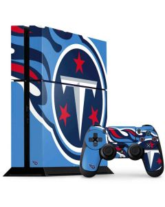 Tennessee Titans Large Logo PS4 Console and Controller Bundle Skin