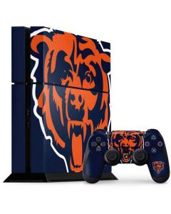 Chicago Bears Large Logo PS4 Console and Controller Bundle Skin