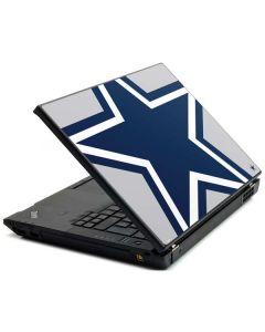 Dallas Cowboys Large Logo Lenovo T420 Skin