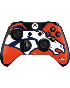 Denver Broncos Large Logo Xbox One Controller Skin