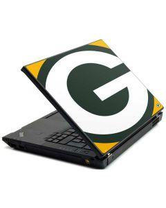 Green Bay Packers Large Logo Lenovo T420 Skin