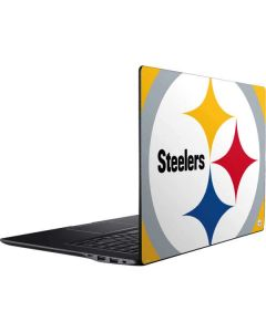 Pittsburgh Steelers Large Logo Ativ Book 9 (15.6in 2014) Skin