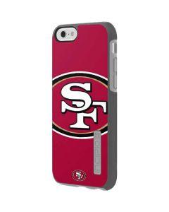San Francisco 49ers Large Logo Incipio DualPro Shine iPhone 6 Skin