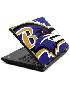 Baltimore Ravens Large Logo Lenovo T420 Skin