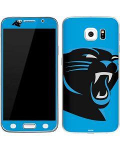 Carolina Panthers Large Logo Galaxy S6 Skin