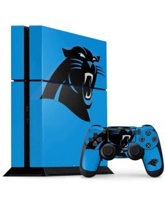 Carolina Panthers Large Logo PS4 Console and Controller Bundle Skin