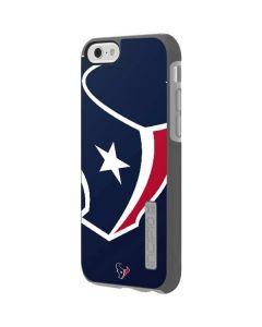 Houston Texans Large Logo Incipio DualPro Shine iPhone 6 Skin
