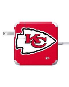 Kansas City Chiefs Large Logo Apple Charger Skin