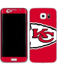 Kansas City Chiefs Large Logo Galaxy S6 Edge Skin
