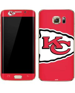 Kansas City Chiefs Large Logo Galaxy S7 Edge Skin