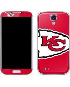 Kansas City Chiefs Large Logo Galaxy S4 Skin