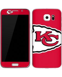 Kansas City Chiefs Large Logo Galaxy S6 Skin