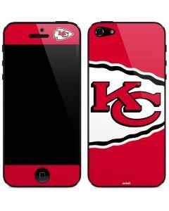 Kansas City Chiefs Large Logo iPhone 5/5s/SE Skin