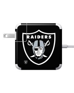 Oakland Raiders Large Logo Apple Charger Skin