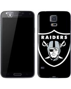 Oakland Raiders Large Logo Galaxy S5 Skin