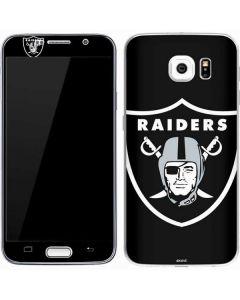 Oakland Raiders Large Logo Galaxy S7 Skin