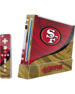 San Francisco 49ers Wii (Includes 1 Controller) Skin