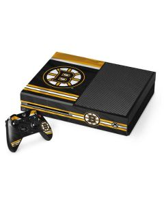 Boston Bruins Home Jersey Xbox One Console and Controller Bundle Skin