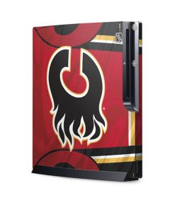 Calgary Flames Home Jersey Playstation 3 & PS3 Slim Skin