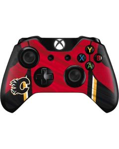 Calgary Flames Home Jersey Xbox One Controller Skin