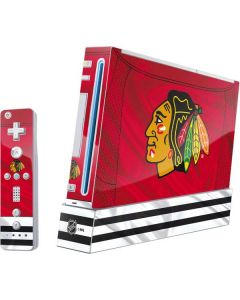 Blackhawks Red Stripes Wii (Includes 1 Controller) Skin