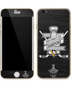 Pittsburgh Penguins 2016 National Champions iPhone 6/6s Skin