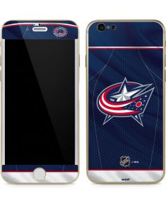 Columbus Blue Jackets Jersey iPhone 6/6s Skin