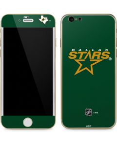 Dallas Stars Solid Background iPhone 6/6s Skin