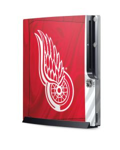 Detroit Red Wings Home Jersey Playstation 3 & PS3 Slim Skin