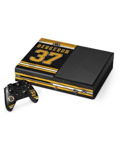 Boston Bruins #37 Patrice Bergeron Xbox One Console and Controller Bundle Skin