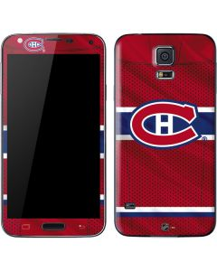 Montreal Canadiens Home Jersey Galaxy S5 Skin