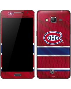 Montreal Canadiens Home Jersey Galaxy Grand Prime Skin