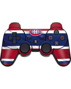 Montreal Canadiens Home Jersey PS3 Dual Shock wireless controller Skin