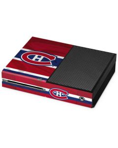 Montreal Canadiens Home Jersey Xbox One Console Skin