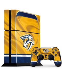 Nashville Predators Jersey PS4 Console and Controller Bundle Skin