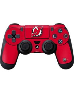New Jersey Devils Solid Background PS4 Controller Skin