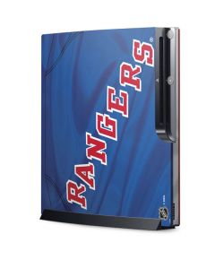 New York Rangers Home Jersey Playstation 3 & PS3 Slim Skin