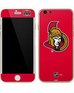 Ottawa Senators Solid Background iPhone 6/6s Skin