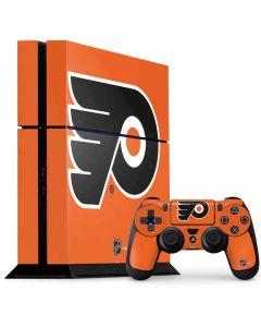 Philadelphia Flyers Logo PS4 Console and Controller Bundle Skin