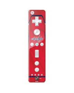 Washington Capitals Home Jersey Wii Remote Controller Skin