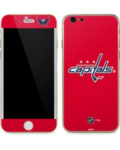 Washington Capitals Solid Background iPhone 6/6s Skin
