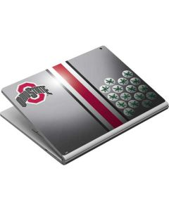 Ohio State University Buckeyes Surface Book Skin
