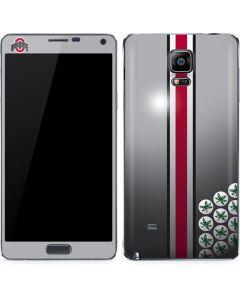 Ohio State University Buckeyes Galaxy Note 4 Skin