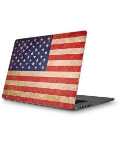 Distressed American Flag Apple MacBook Pro Skin
